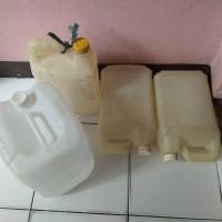 Jeringen kosong ukuran 5 liter atau ukuran 12 liter