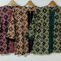 Batik Sakura Atasan Blouse Batik Wanita - batik sogan wanita