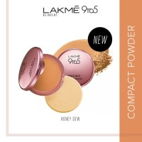 Lakme 9to5 Reinvent Primer + Matte Powder Found Compact - Honey Dew