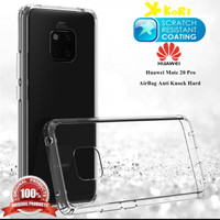 Clear Skin Acrylic Hard Soft Case Cover Huawei Mate 20 / 20 X / 20 Pro