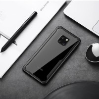 Huawei Mate 20 Pro - Mate 20 Armor Acrylic Full Cover Hard Soft Case