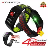 4CONNECT 4Fit Smart Band Blood Pressure Oxigen Monitor Original