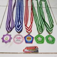 Medali Wisuda Akrilik Plus Resin Timbul