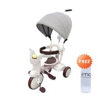 IIMO 2 SS Tricycle Gentle White Transparant + Free Water Bottle