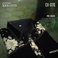 SERAGAM BATIK   Gothic Knights   Batik Seragam   Batik Kerja EX-070