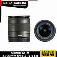 CANON LENSA EF-M 11-22mm f/4-5.6 IS STM
