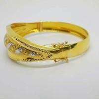 gelang tangan emas asli SB code 1
