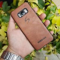 Softcase Premium Leather Samsung Galaxy S8 Plus Casing Case