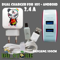 charger fast charging dual port USB home charger GV-212