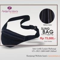 Tas Seminar Selempang, Sling Bag, Tas Pinggang Murah dan Berkualitas