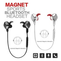 Remax Earphone S2 Headset Sport Bluetooth Magnet RM-S2 Original Segel