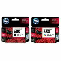 Paket Tinta HP 680 Black + Colour (2 pcs) ORIGINAL Ink Cartridge