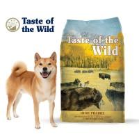 Taste of the wild high praire canine formula