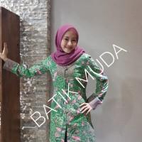 Dress Batik Katun Tulis Lasem Brand Batik Muda Uk S