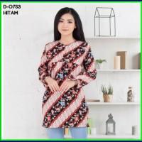 baju atasan Tunik Wanita Muslim Blouse Busui Batik Murah Wanita