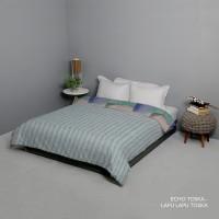 King Rabbit Bed Cover Size Single 140x230 cm Motif Echo Toska