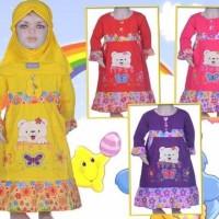 Baju Muslim Bayi Perempuan 8 - 10 Bulan (Pmb237)