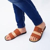 Double Strap Sandal Flat Wanita Marlee BN05