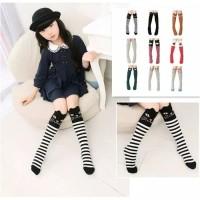 kaos kaki anak perempuan panjang selutut / kaos kaki girl motif lucu