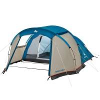 Tenda Kemah 4 Orang / Tenda Berkemah 4 Orang 100% ORI DECATHLON