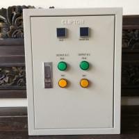 Panel ATS Inverter PLTS Surya PLN dengan Timer 3000 Watt Dual Output