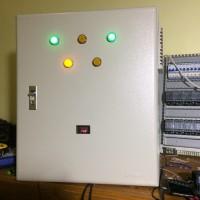 Panel Switch 2 KWH Meter 4 Output dengan Inverter UPS 1000 Watt