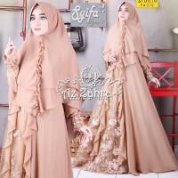 Gamis Set Syifa syari Vol 2 (edisi Premium) by Az Zahra ORIGINAL
