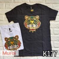 K177 - Kaos   Tumblr Tee   T-Shirt Wanita   Cewek Kenzo Tiger Foil 206516f737
