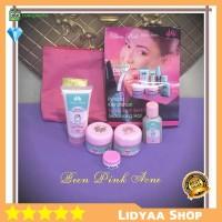 Cream Pencerah Wajah Paket Been Pink Acne Jerawat Pengencang Kulit ORI