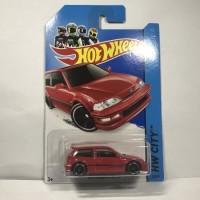 Hotwheels Honda Civic EF Merah