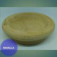 Piring sambal/ saus bahan kayu alami