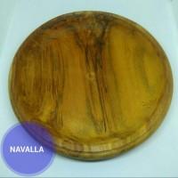Piring kayu bahan kayu jati berkualitas