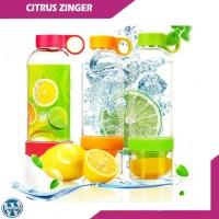 Citrus Zinger Botol Minum Sari Buah Tritan Infuse Water Juicer