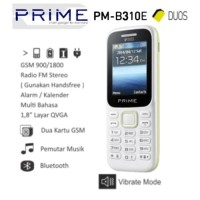 PRIME B310E DUAL SIM MIRIP SAMSUNG PITON HP BANDEL GARANSI RESMI