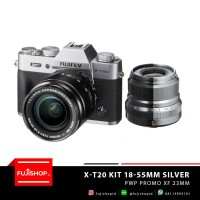 Fujifilm X-T20 XC 18-55mm PWP Promo XF 23mm F2