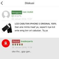 Harga lcd cabutan iphone 5 original 100 | Pembandingharga.com