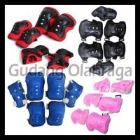 SALE DEKER INLINE SKATE / Pelindung Lutut Sikut Sepatu Roda Anak