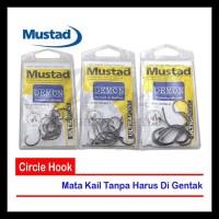 TERUJI Mustad Light Gauge Circle Hook - Ref 399551NPBLN OBRAL