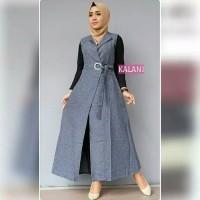 Jual Baju Gamis Wanita Terbaru Kalani Dress Remaja Muslim Kab Bandung Barat Ratu Fashionmuslim Tokopedia