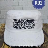 Topi Tauhid dan Topi dakwah Komando KD2