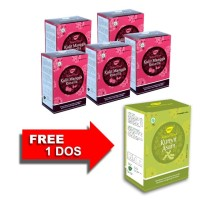 Jamu IBOE - IBOE Natural Drink Kulit Manggis Rosella FREE Bundling