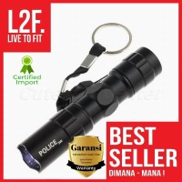 Senter Mini LED / LED Flashlight / Senter Police 3W Mini / Lampu LED