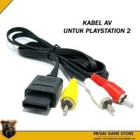 Kabel AV PS2 OP 1.8 M - kabel jack ps2 - kabel video - kabel audio -