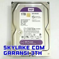 HARDDISK WD / WDC PURPLE CCTV SATA3 1TB 5400RPM WD10PURX