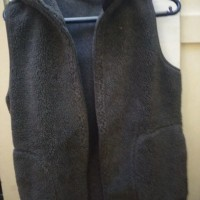 a6434a69aa42 Jaket Vest Rompo Hoodie Muji Original Size L