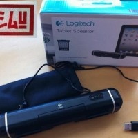 Harga logitech portable clip on tablet speaker for for ipad | Pembandingharga.com