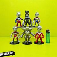 Figure Ultraman set 6 Monster Baltan King Joe Seven Ginga Max