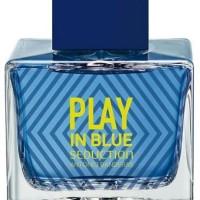 Antonio Banderas Play In Blue Seduction Man 100 Ml NON BOX BERGARANSI