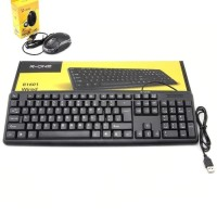 HIGH QUALITY PAKET KEYBOARD & MOUSE USB R-ONE