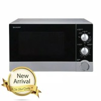 Sharp Straight R-21DO(S)-IN. Microwave Oven 23 Liter. 450 Watt. Baru